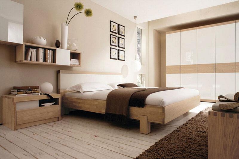 thiết kế phòng ngủ phong cách nhật bản cho căn 3 phòng ngủ