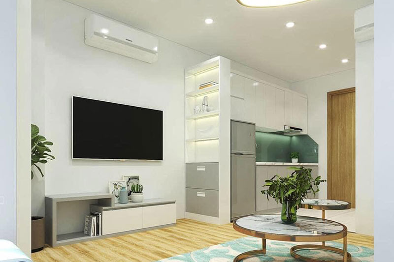 ý tưởng thiết kế nội thất chung cư nhỏ 30m2 đảm bảo tối ưu các không gian sử dụng