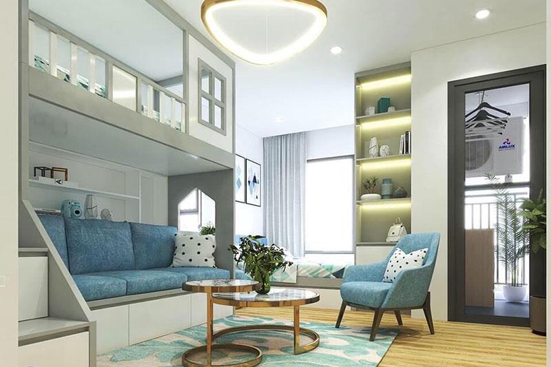 ý tưởng thiết kế nội thất chung cư nhỏ với đồ dùng thông minh