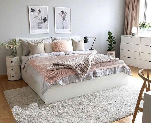 mẫu thiết kế nội thất phòng ngủ 9m2