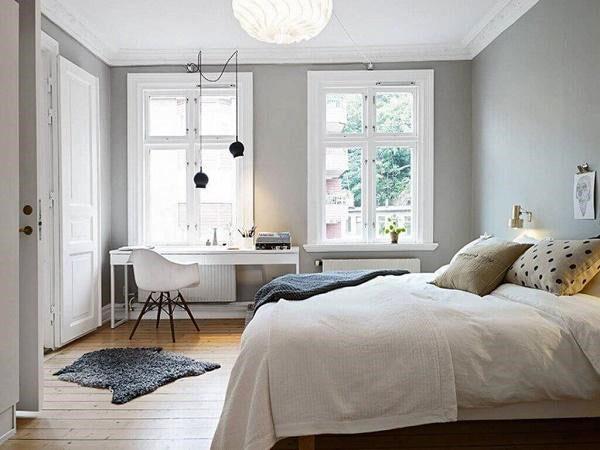mẫu thiết kế nội thất phòng ngủ nhỏ hơn 10m2