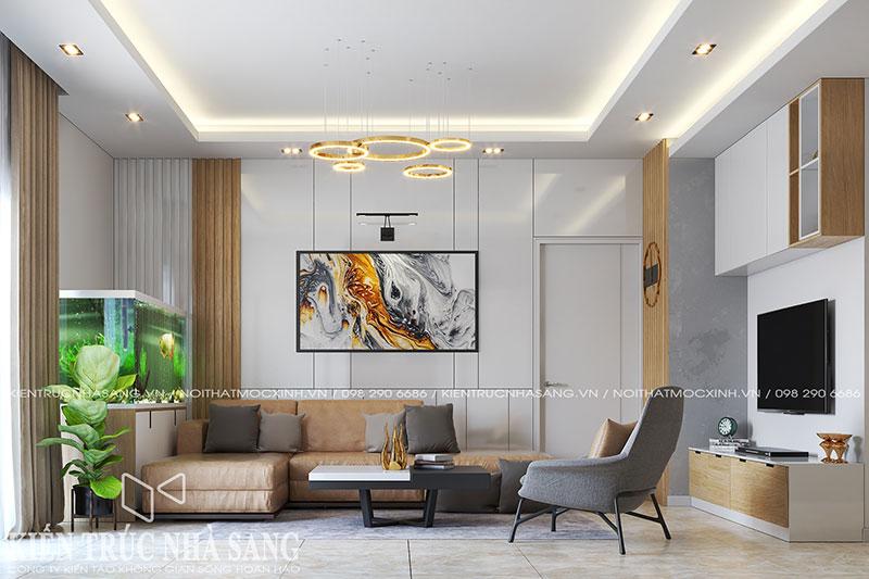 mẫu thiết kế phòng khách hiện đại đẹp nhất hiện nay