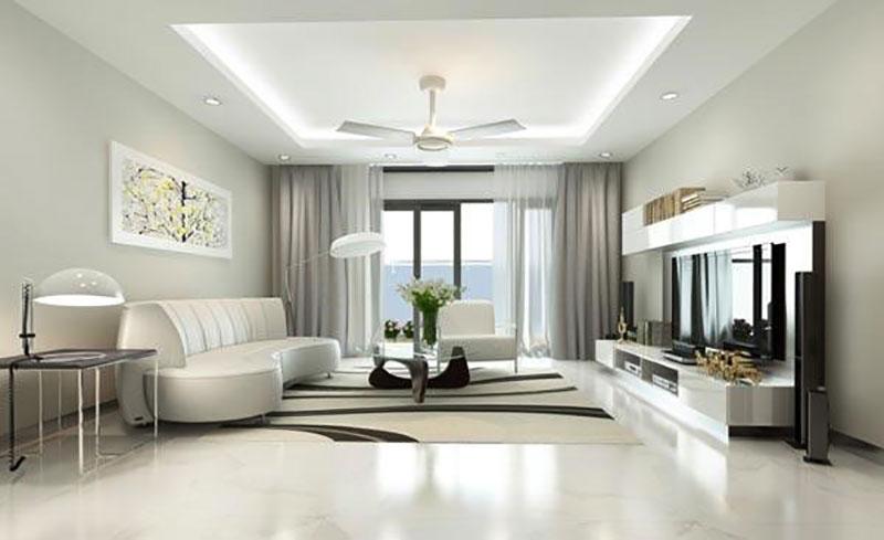 thiết kế nội thất hiện đại cho không gian nhỏ