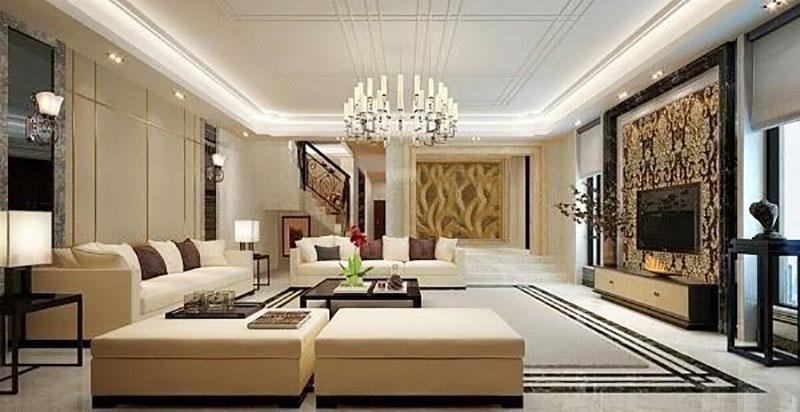 thiết kế nội thất hiện đại phong cách châu âu