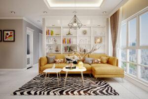 thiết kế nội thất phòng 90m2