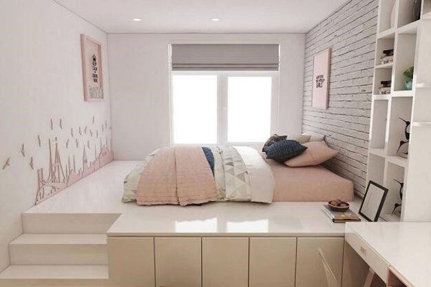 thiết kế nội thất phòng ngủ 9m2