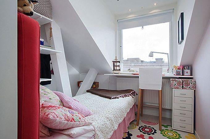 thiết kế nội thất phòng ngủ nhỏ 8m2 tận dụng mọi không gian