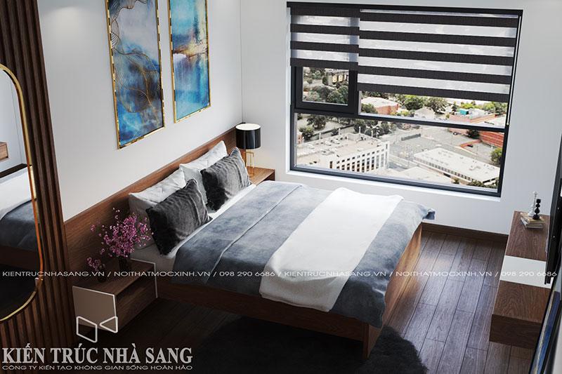 thiết kế nội thất phòng ngủ theo xu hướng hiện đại đẹp nhất năm 2020
