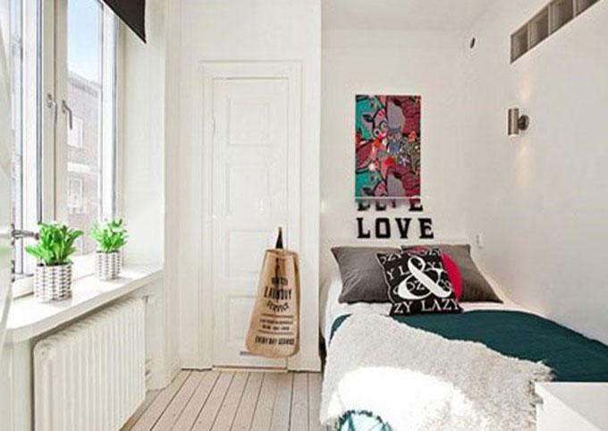 trang trí phòng ngủ nhỏ 8m2