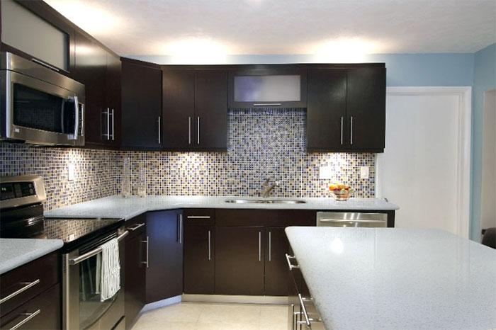 nội thất phòng bếp tiện nghi thoải mái