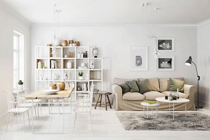 thiết kế nội thất phong cách Bắc Âu