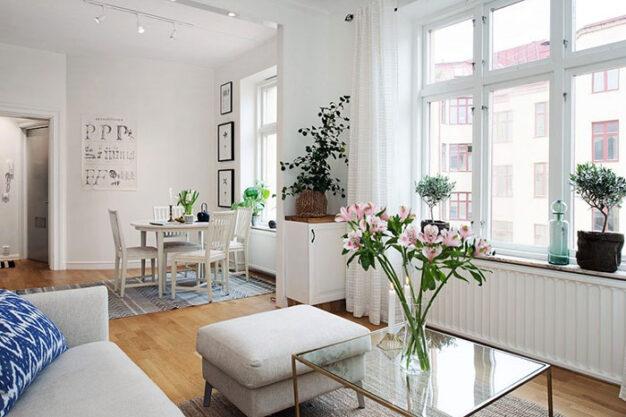 thiết kế nội thất tận dụng ánh sáng tự nhiên