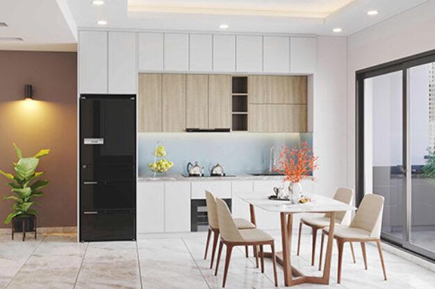 thiết kế thi công nội thất tủ bếp đẹp hiện đại