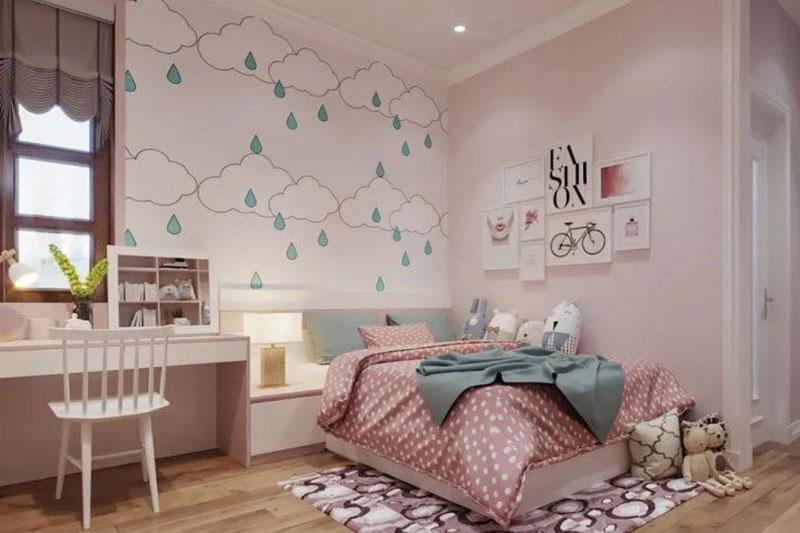 nguyên tắc thiết kế phòng ngủ nữ tính