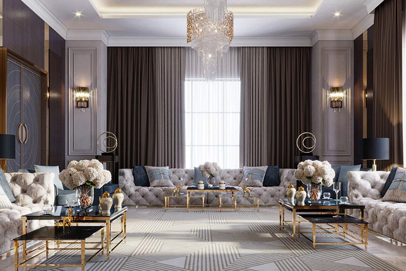 nội thất phong cách Ý tinh tế và thanh lịch
