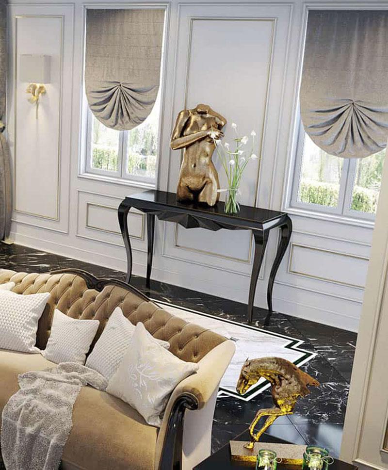 phong cách nội thất Châu Âu mềm mại và tinh tế 1