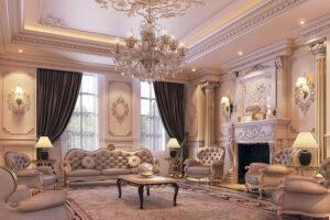 thiết kế nội thất phong cách Tây Âu