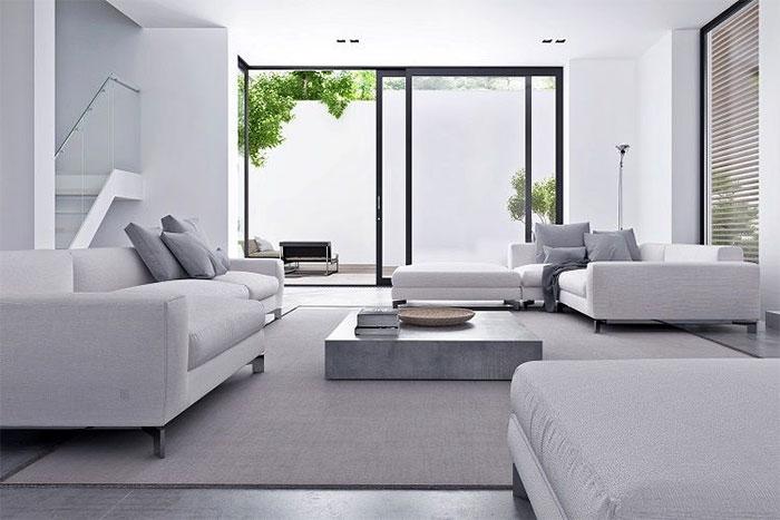 thiết kế nội thất phong cách tối giản