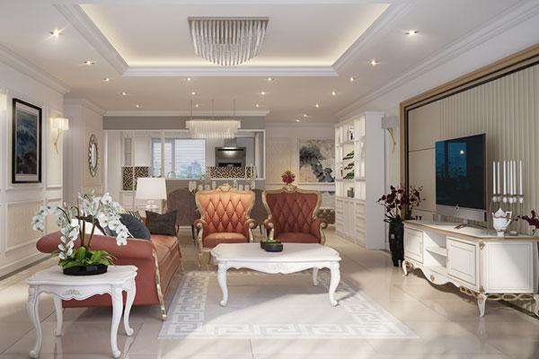 thiết kế nội thất phù hợp với phong thủy của gia chủ