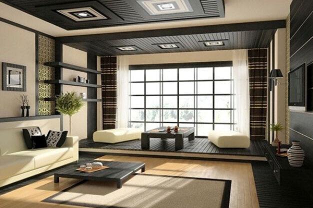 thiết kế nội thất theo phong cách Nhật tối giản và hiện đại