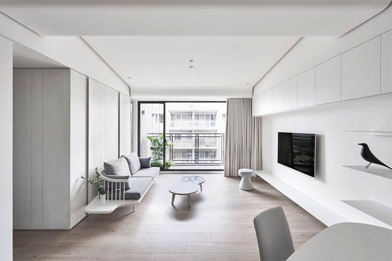 thiết kế nội thất theo phong cách tối giản Minimalism