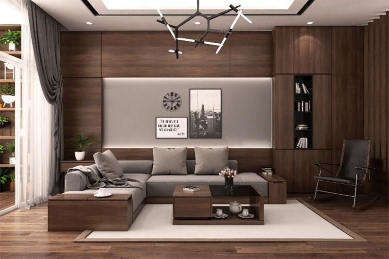 gỗ công nghiệp vừa có tính thẩm mỹ và đa năng