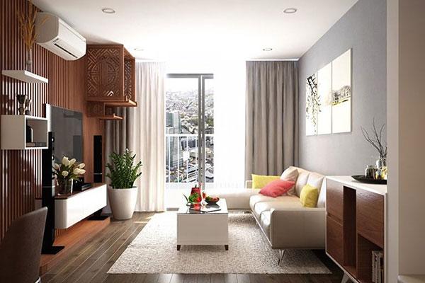 nội thất có cây xanh mang đến không gian sống thân thiện hài hòa