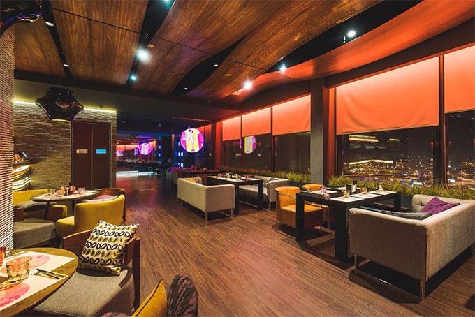 thiết kế không gian mở cho các phòng khách sạn