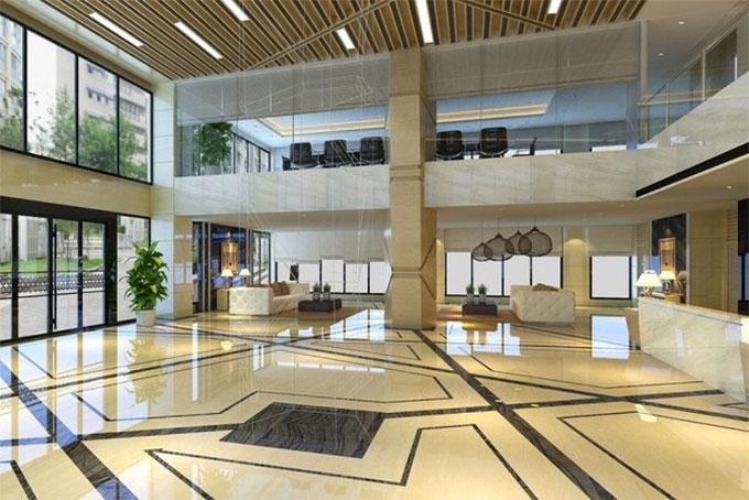 thiết kế nội thất khách sạn cho khu vực lễ tân