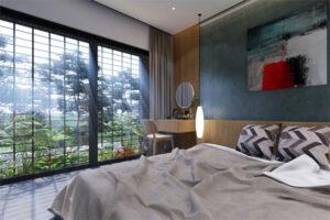 mẫu thiết kế nội thất phòng ngủ nhà cấp 4