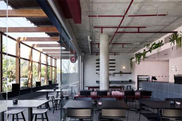 nội thất quán cafe hướng tới sự đơn giản