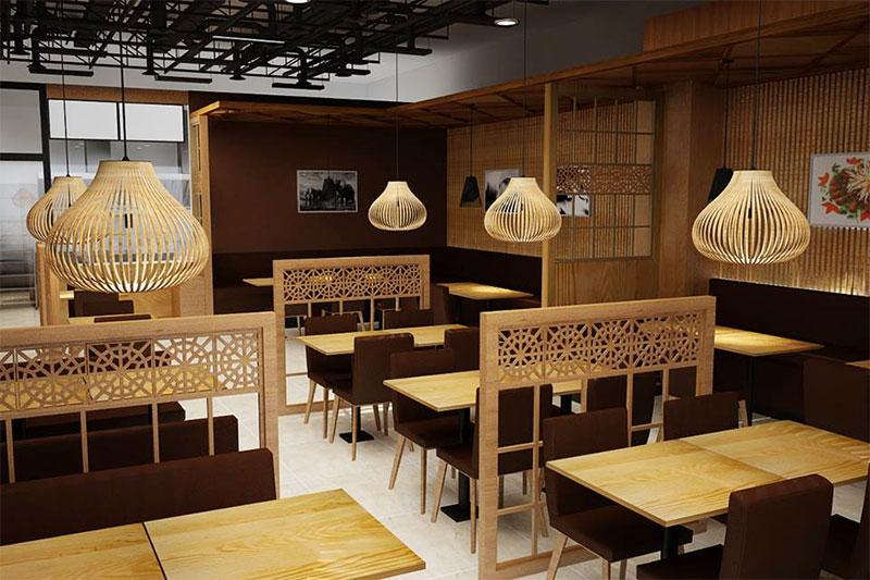 thiết kế quán ăn ấm cúng và độc đáo