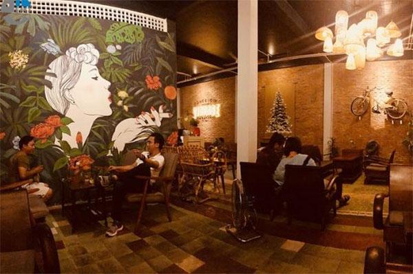 ý tưởng thiết kế nội thất quán cafe độc đáo