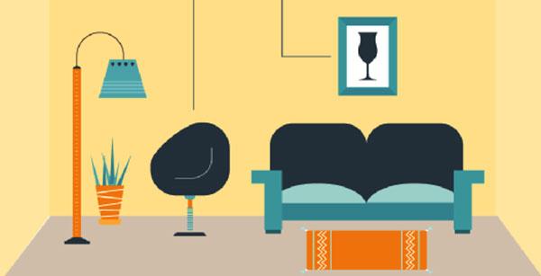 bạn cần lưu ý đến những nguyên lý nhịp điệu khi thiết kế nội thất