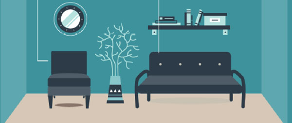 nguyên lý về sự hài hòa là nguyên lý không thể thiếu trong thiết kế nội thất