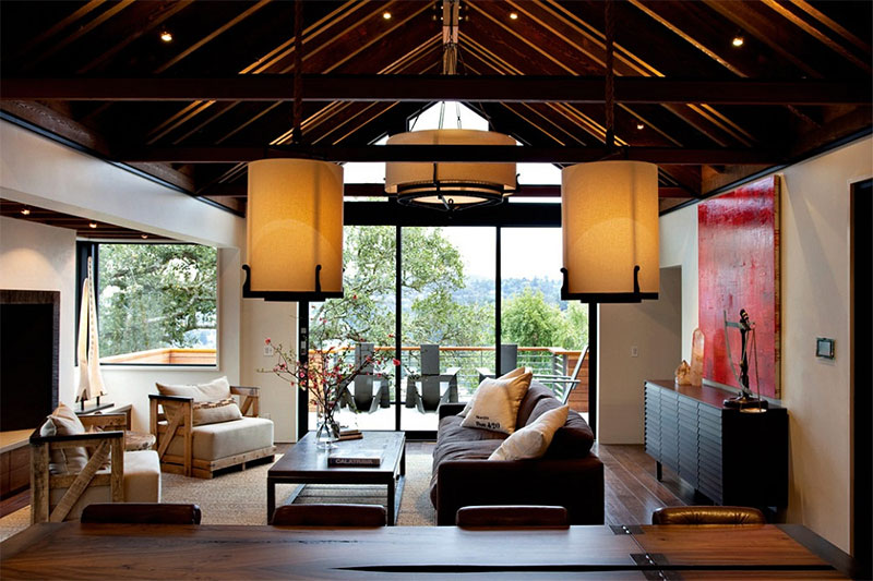 thiết kế nội thất cân bằng trong bài trí đồ nội thất