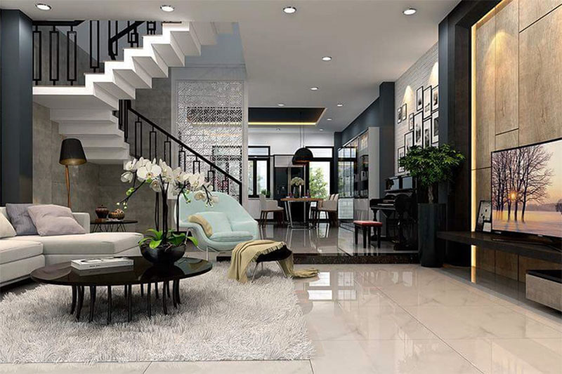 thiết kế nội thất cần nhiều yếu tố để được không gian đẹp