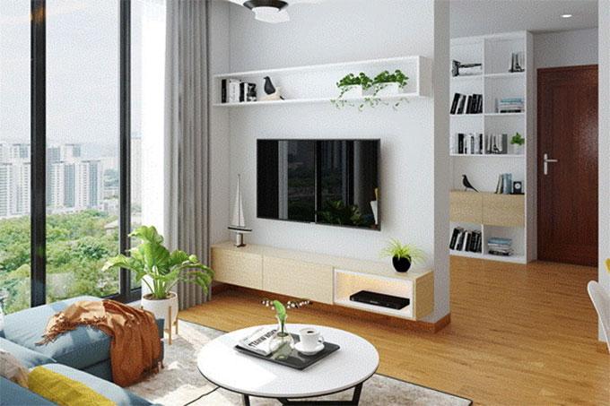 thiết kế nội thất phong cách hiện đại phù hợp với diện tích nhỏ