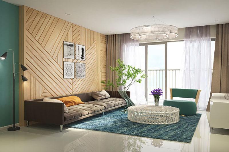 thiết kế nội thất sử dụng các món đồ cần có sự tương xứng với nhau