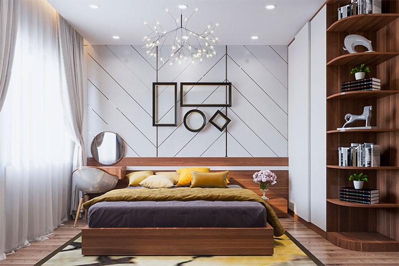 thiết kế nội thất sử dụng điểm nhấn tạo nét thu hút cho tổng thể nội thất