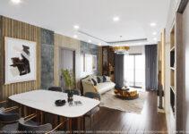 thiết kế nội thất sử dụng thủ pháp đối xứng hài hòa