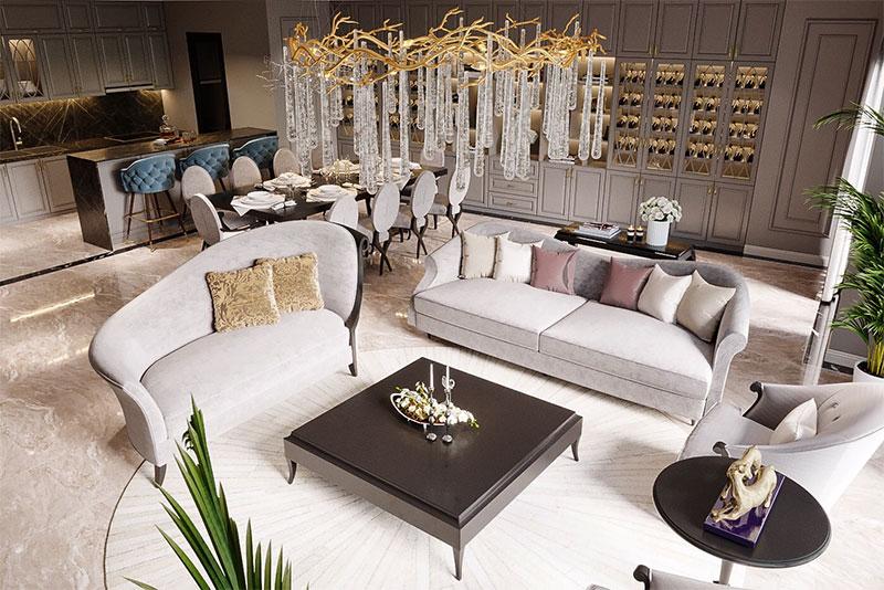 thiết kế phong cách nội thất được nhiều khách hàng thích thú
