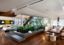 ứng dụng của không gian mở trong thiết kế nội thất