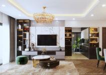 thiết kế nội thất phong cách luxury đẳng cấp