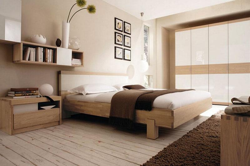 thiết kế nội thất phòng ngủ phong cách Nhật