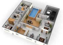 bao quát tổng thể thiết kế nội thất căn nhà nhờ thiết kế 3d