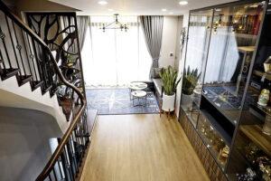 mẫu nội thất nhà ống luxury