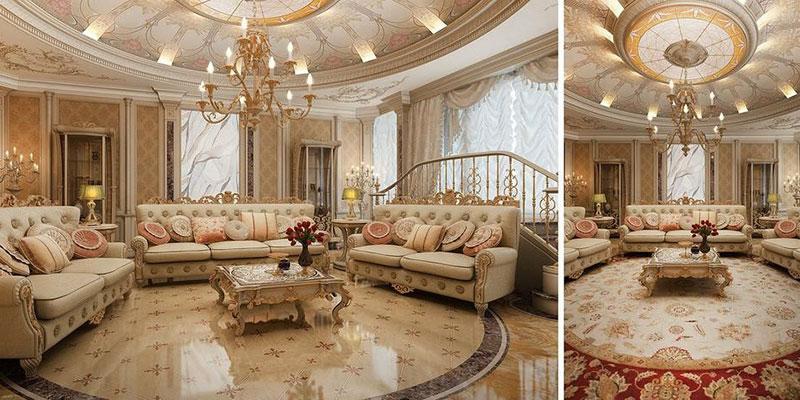 thiết kế nhà phong cách cổ điển