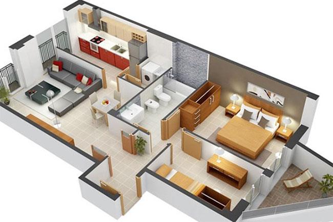 thiết kế nội thất 3D là gì
