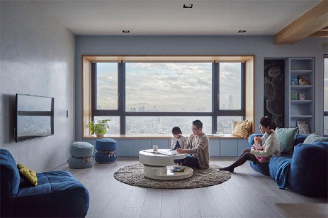 thiết kế nội thất giúp gia đình thoải mái và dễ chịu khi về nhà